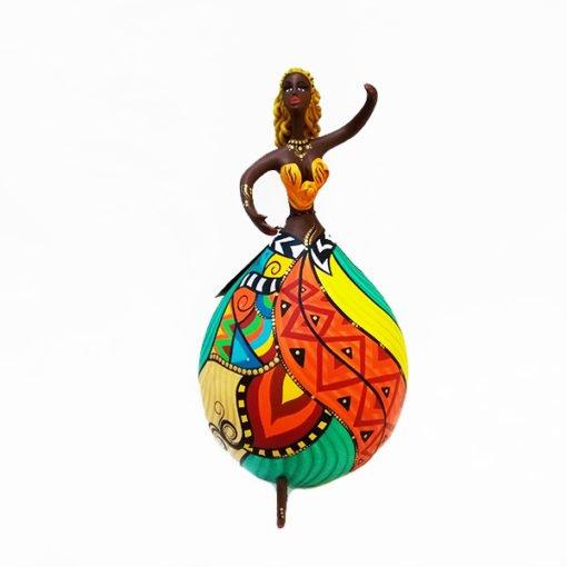 Boneca feita com Cabaça Bapi