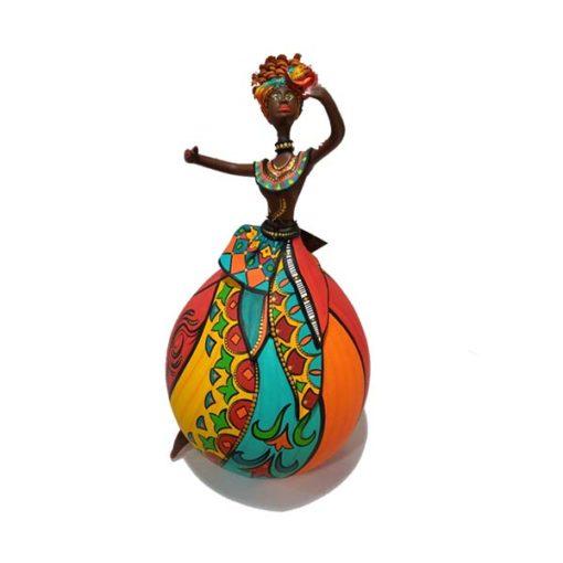 Bailarina em Cabaça Bapi