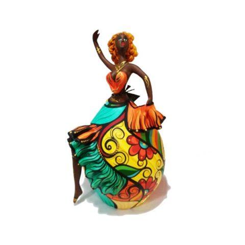 Bailarina de Cabaça Bapi
