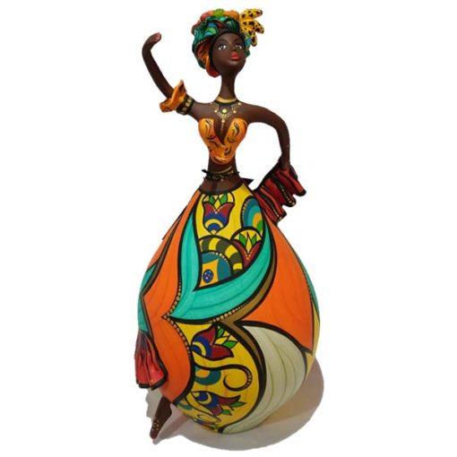 bailarina feita de cabaça