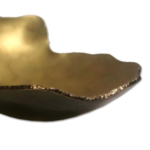 Centro de Mesa ouro fosco