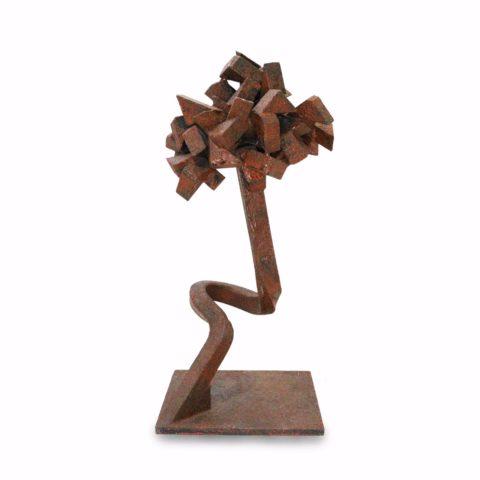 Escultura de Mesa Árvore Estilizada