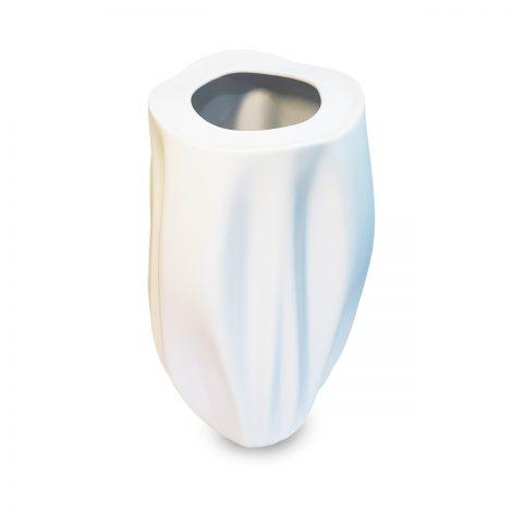 Vaso Branco Fosco Ascídia
