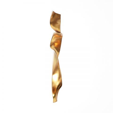 Escultura Ouro para parede