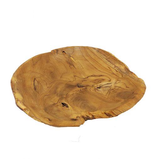 Gamela de Madeira Rústica